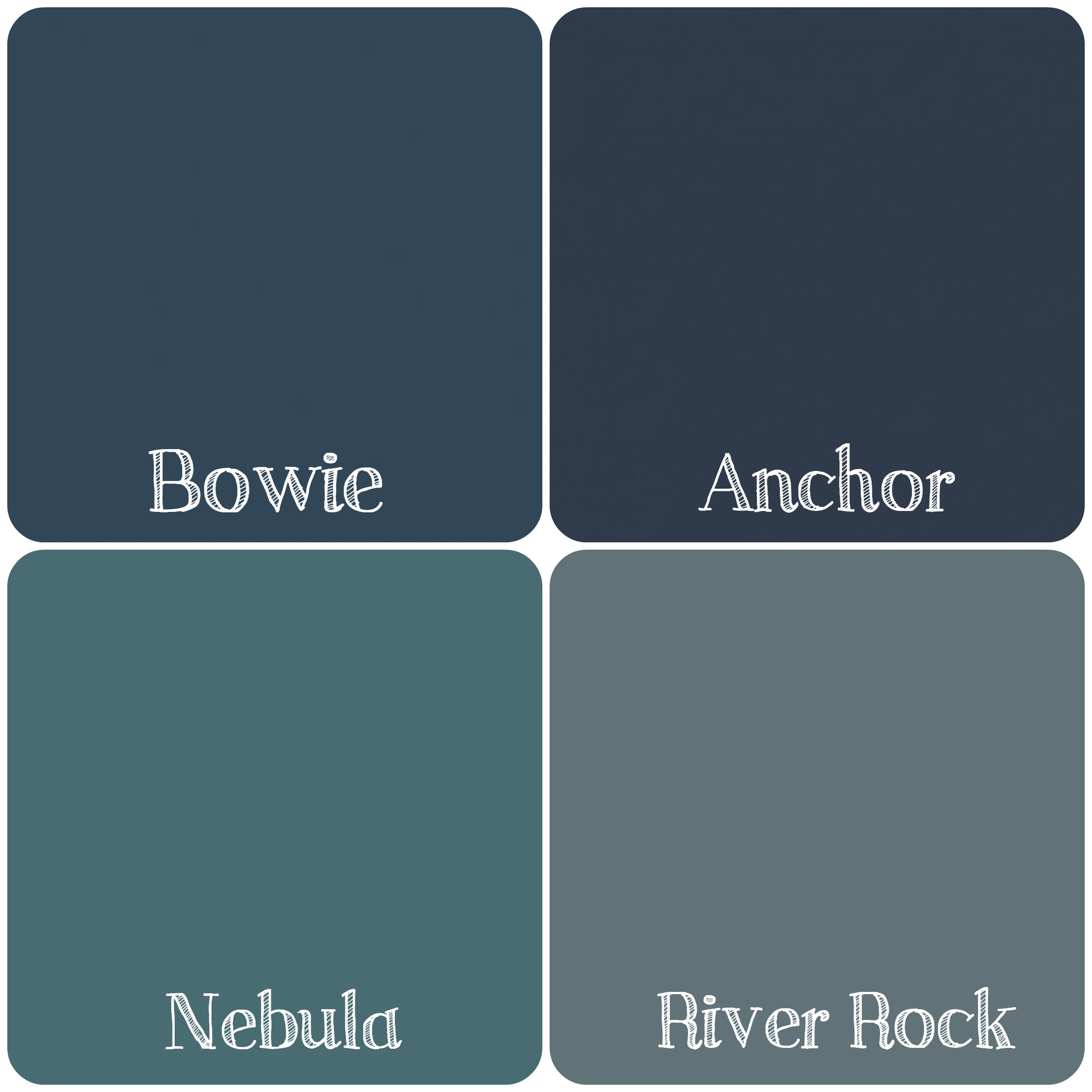 Wonderful Smoky Blue Paint Color - Paint Color Ideas BI22