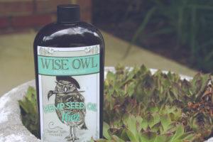 Wise Owl Hemp Oil.