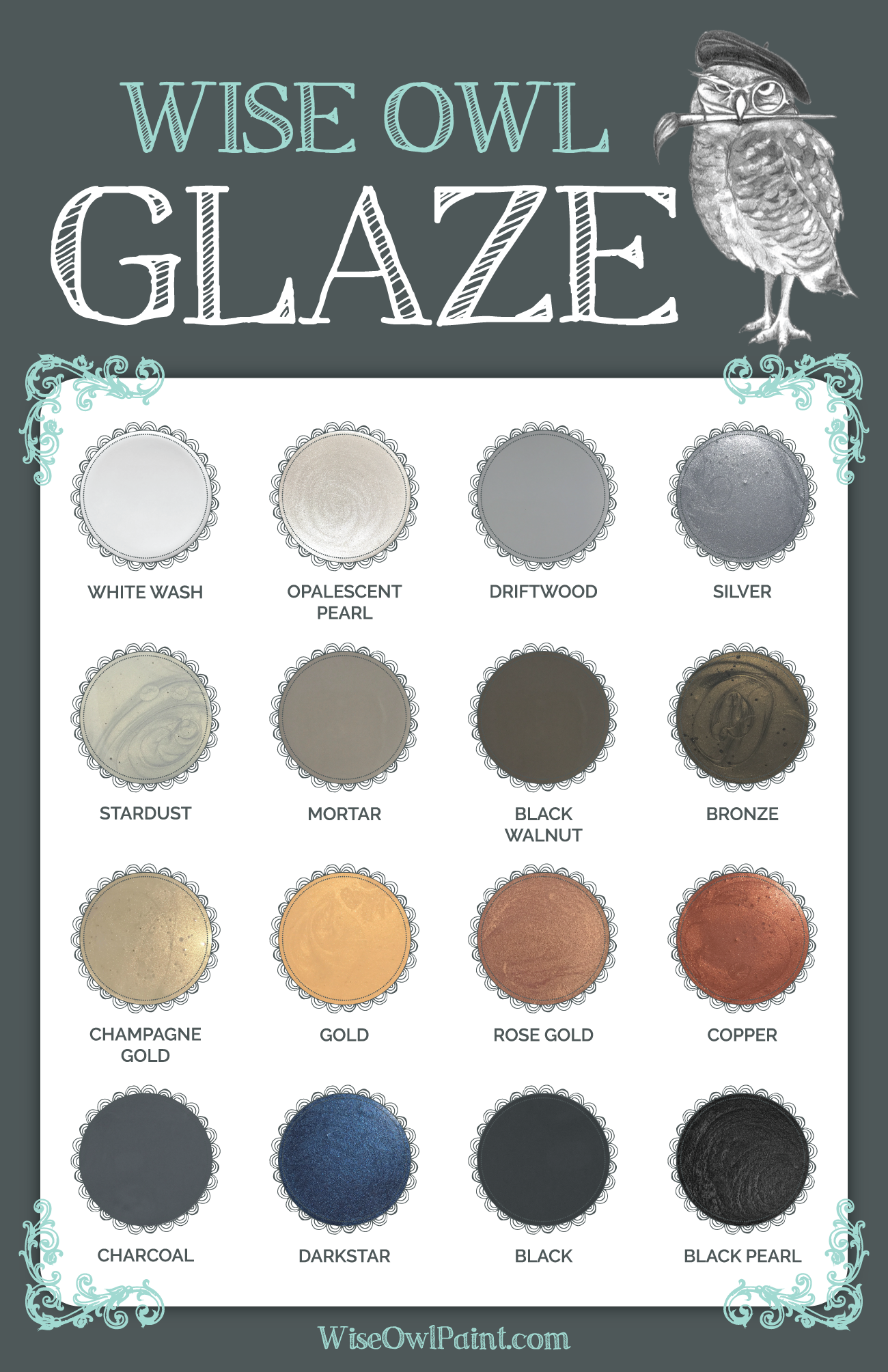 Glaze archives wise owl chalk synthesis paint check out our blog on glazing for more tips on applying glaze here nvjuhfo Images