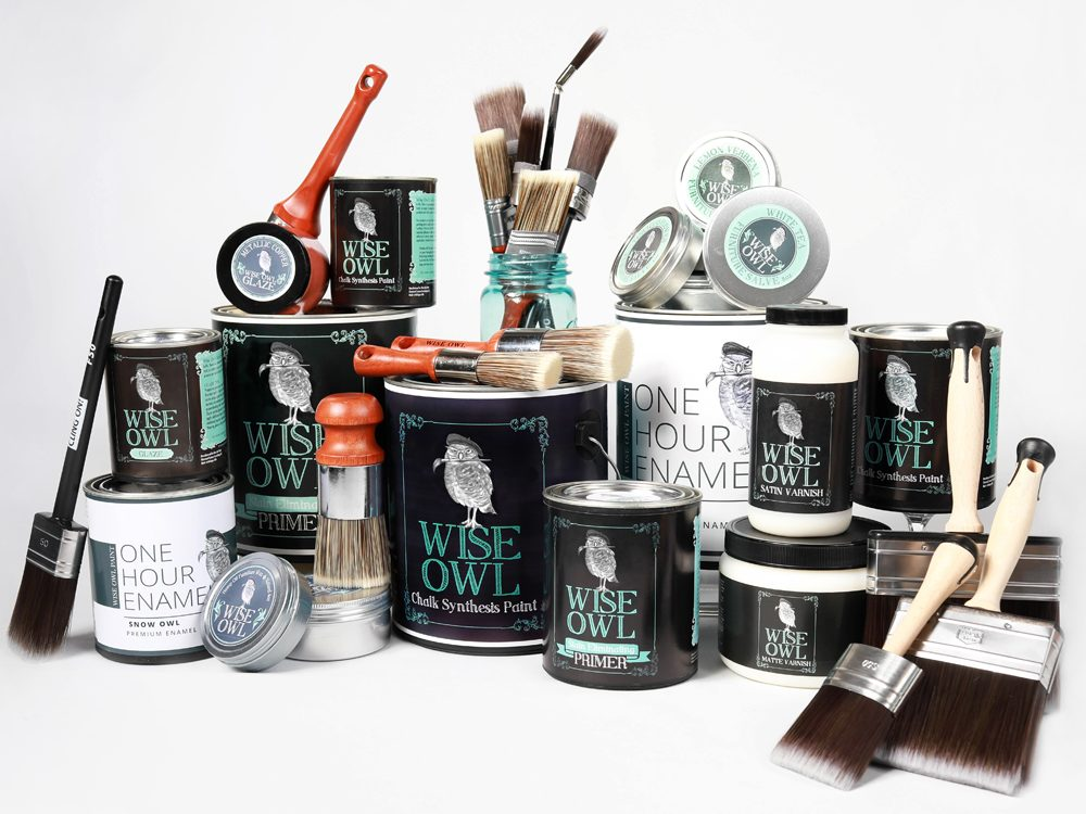 Wise Owl Paint Product Line