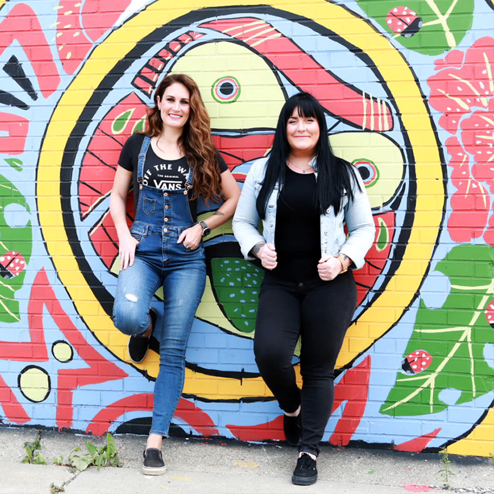 Karen & Erin of Wise Owl Paint