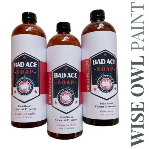 Bad ace brush soap